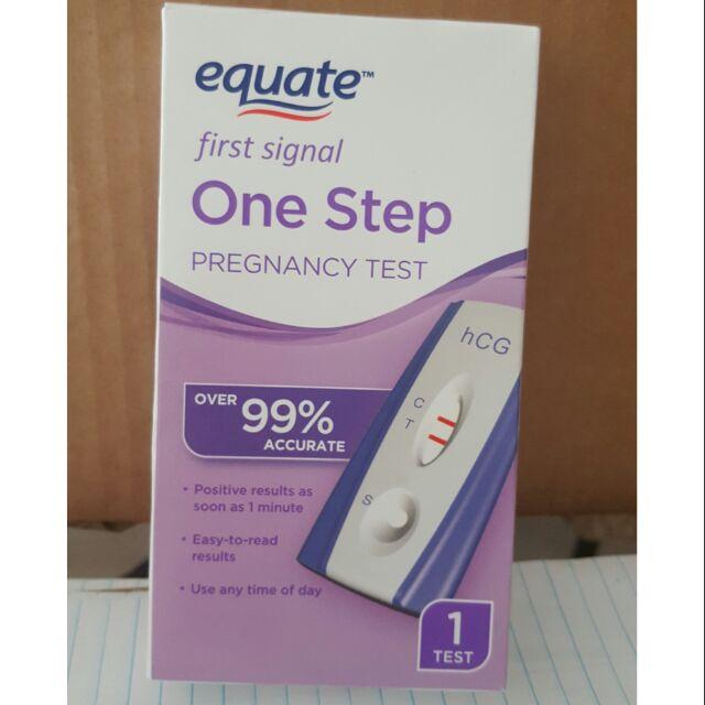 Pregnancy test equate