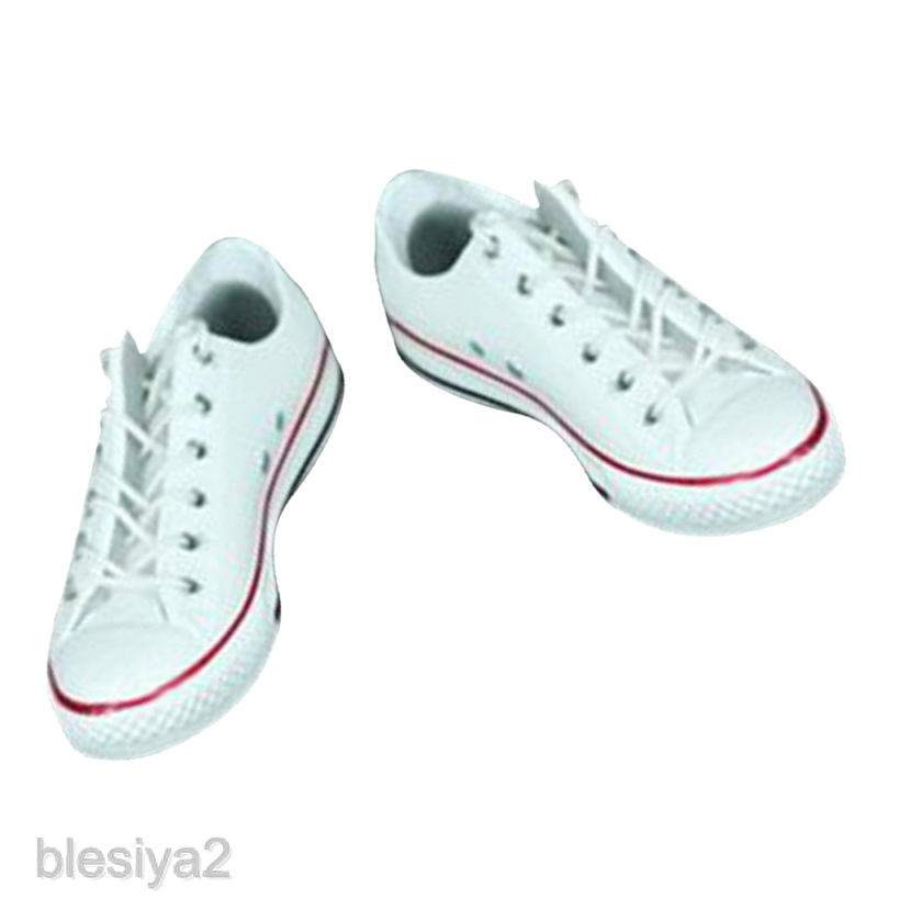 """3 Pairs 1//6 Scale Canvas Shoes Flats Sneakers for 12/"""" Hot Toys Phicen Kumik"""