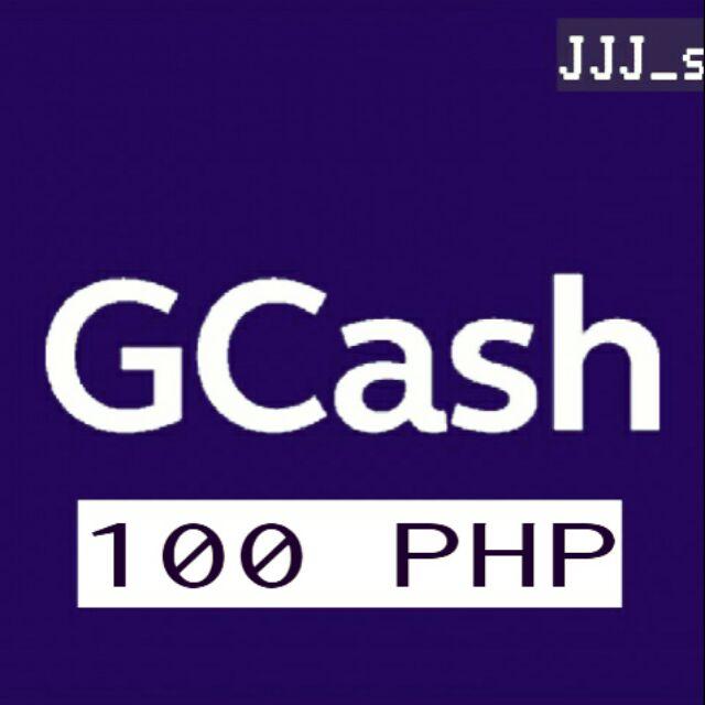 Gcash Cash in 100 PHP