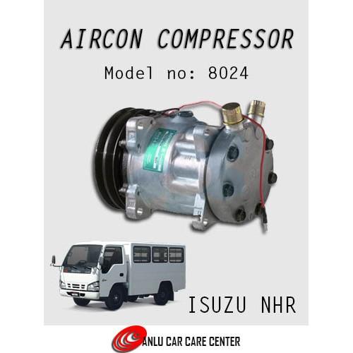 Aircon Compressor for Izuzu NHR SD-7 Model: 8024