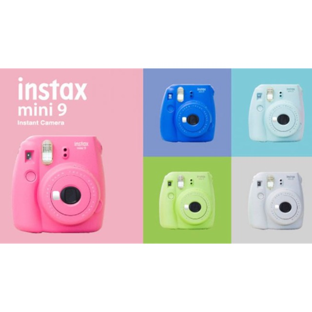 Instax Mini 9 Harajuku Combo Shopee Philippines
