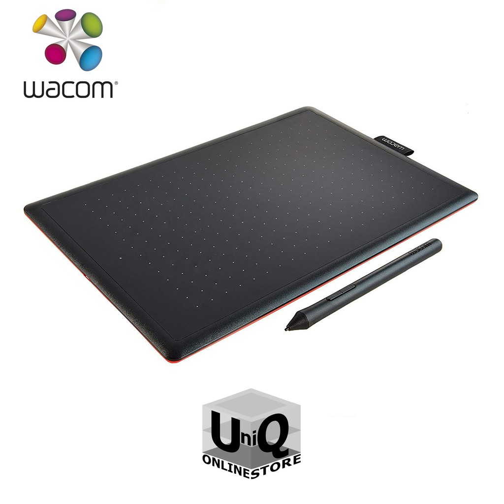 Wacom Creative Pen Tablet CTL-472/K0-CX Small Graphic Tablet (Red/Black)