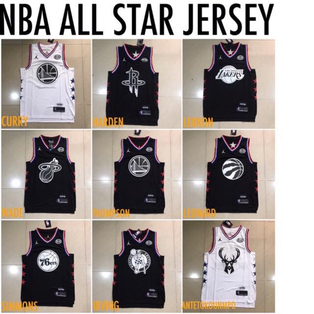 b68c0e363 New nba all star jersey 💯% OEM premium quality | Shopee Philippines