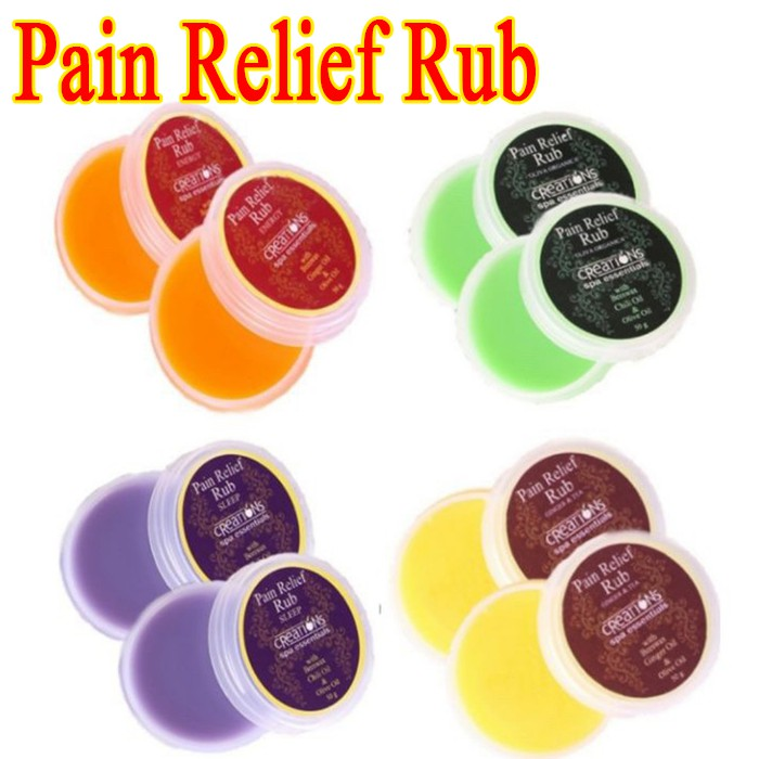 Creations Spa Essentials Pain Relief Rub 50g- ON HAND
