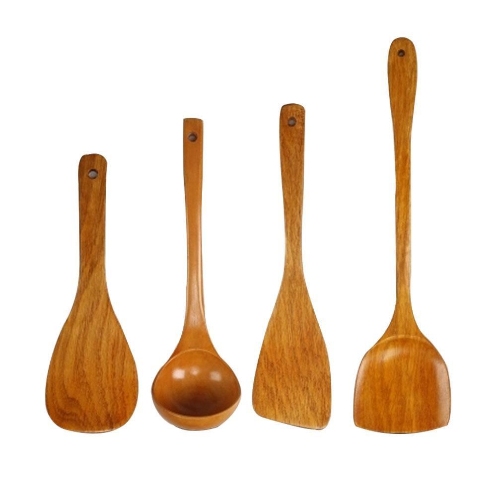 Foodie Wooden Spoon Kitchen Utensil
