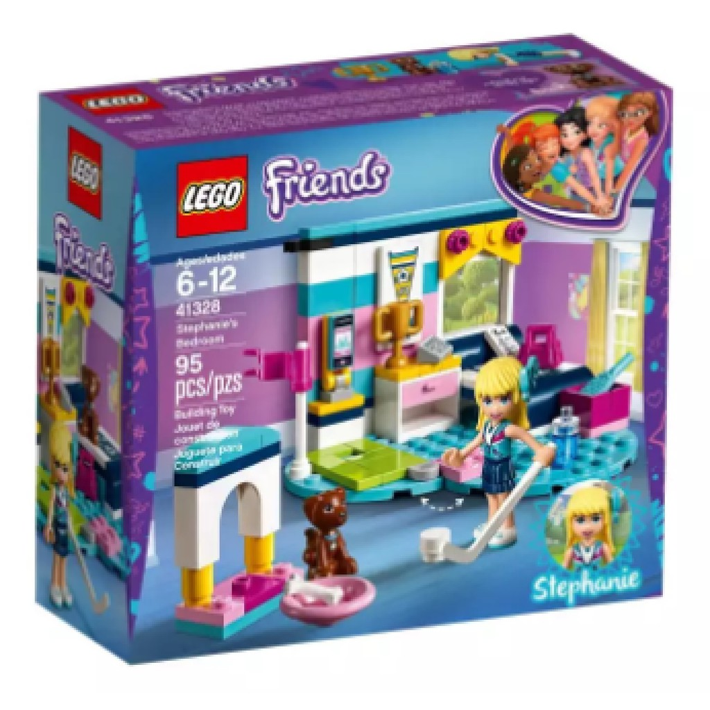 41329 Lego Friends Olivias Deluxe Bedroom Shopee Philippines