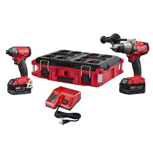 Milwaukee M18 Fuel Drill And Driver 2 Tool Combo Kit 110v Cod Free Shipping Shopee Philippines