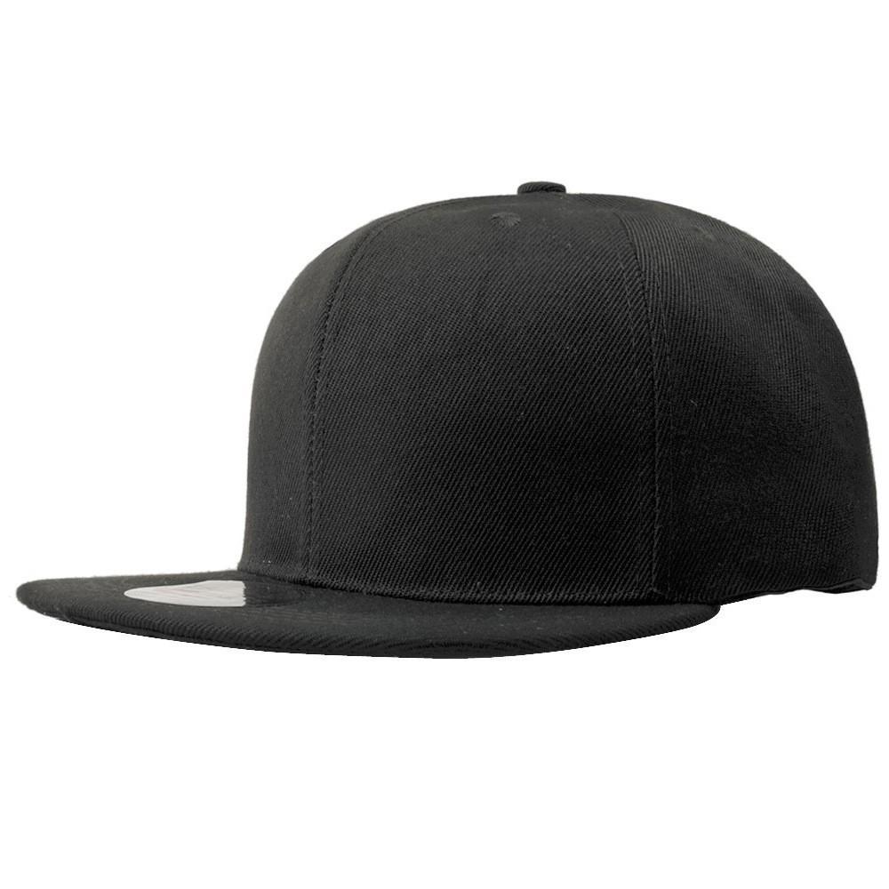 Solid color flat along the hip hop tide baseball cap  609ddceba48