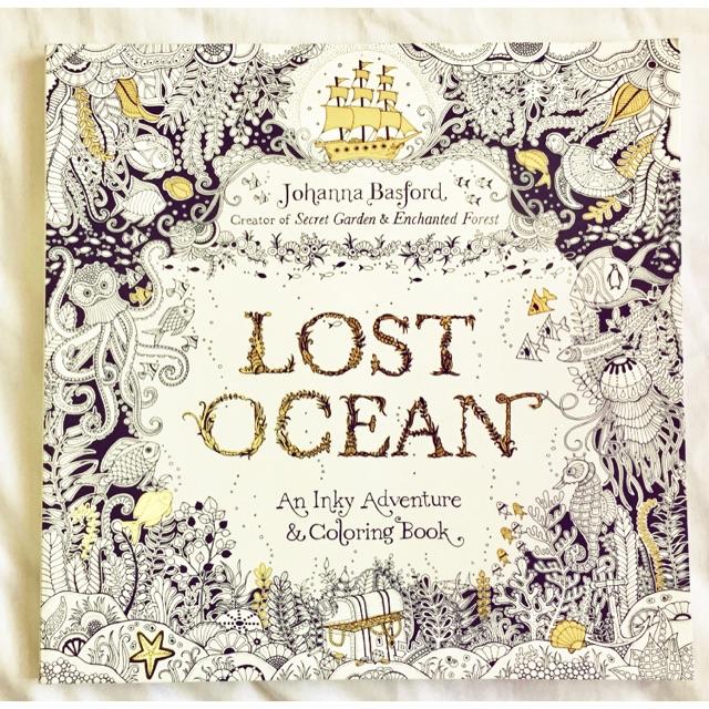 Johanna Basford Lost Ocean Coloring Book