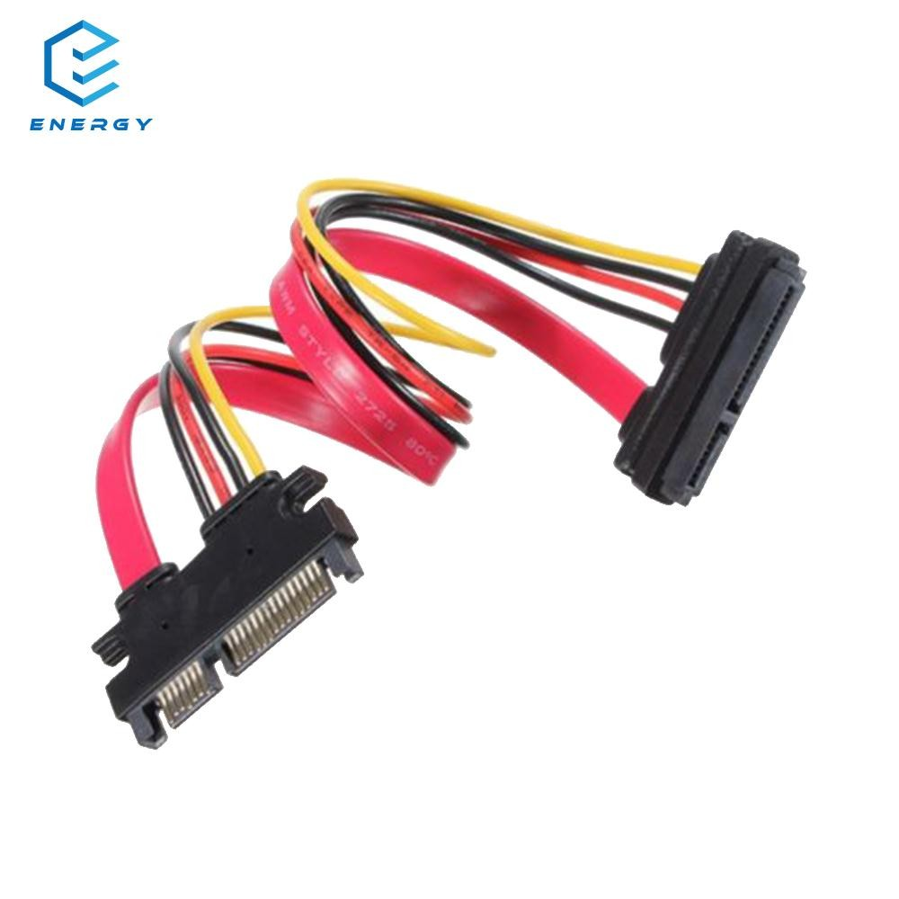 Egy Male To Female Sata Extension Cable Lead 7 15pin Data 50cm Micro Power Cord Shopee Philippines