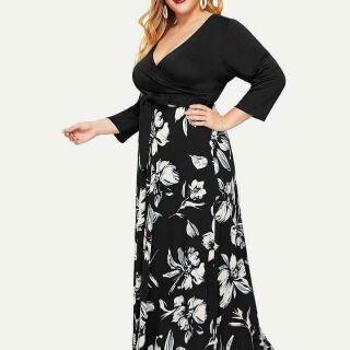 New Arrival US Plus Size Maxi Dress