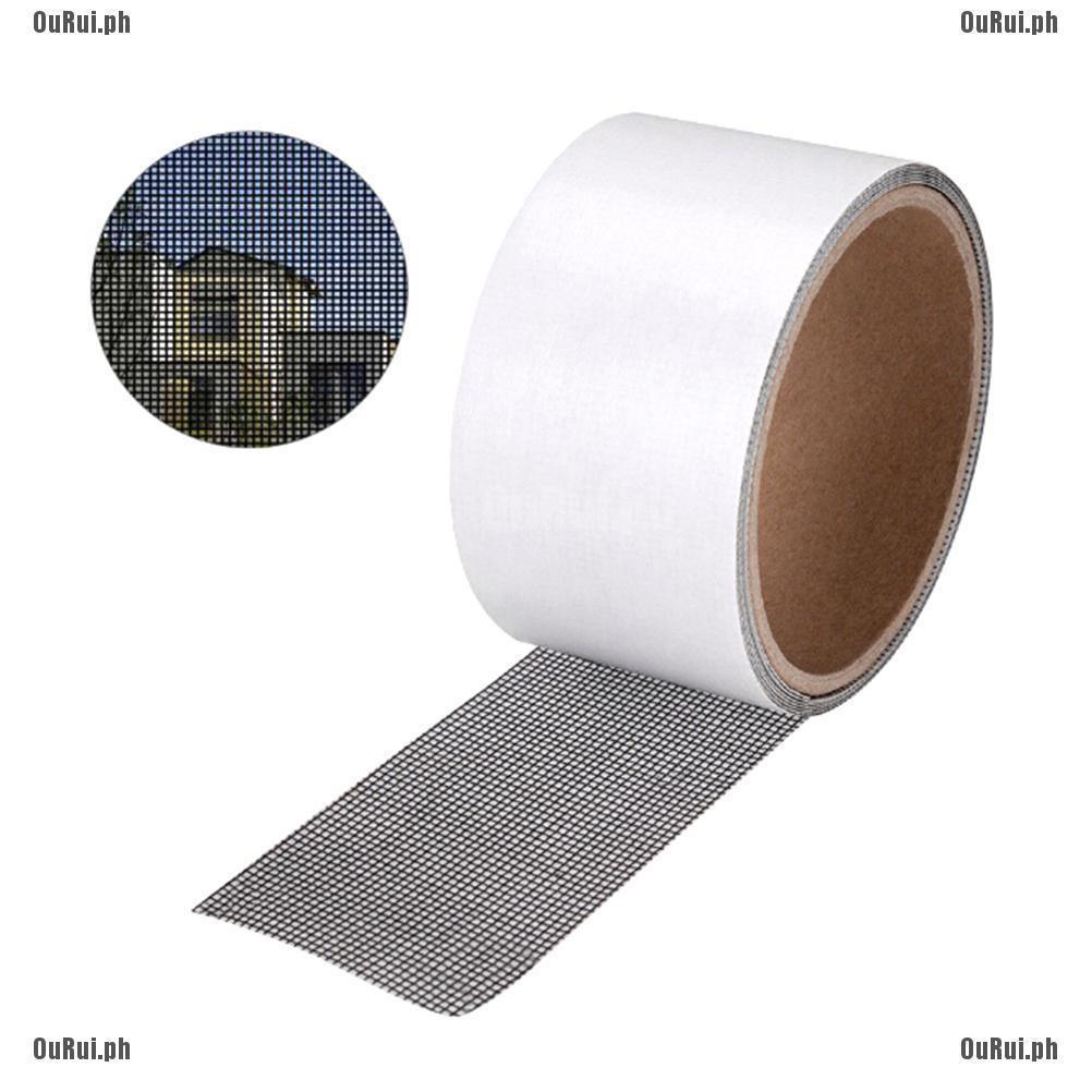 A Window repair Patch High Density Mesh Screen Door Subsidies Durable Fiberglass Patch Transparent Tape Back Glue