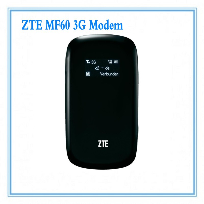unlocked ZTE MF60 21 6M WCDMA 3Gwifi wireless 3G modem