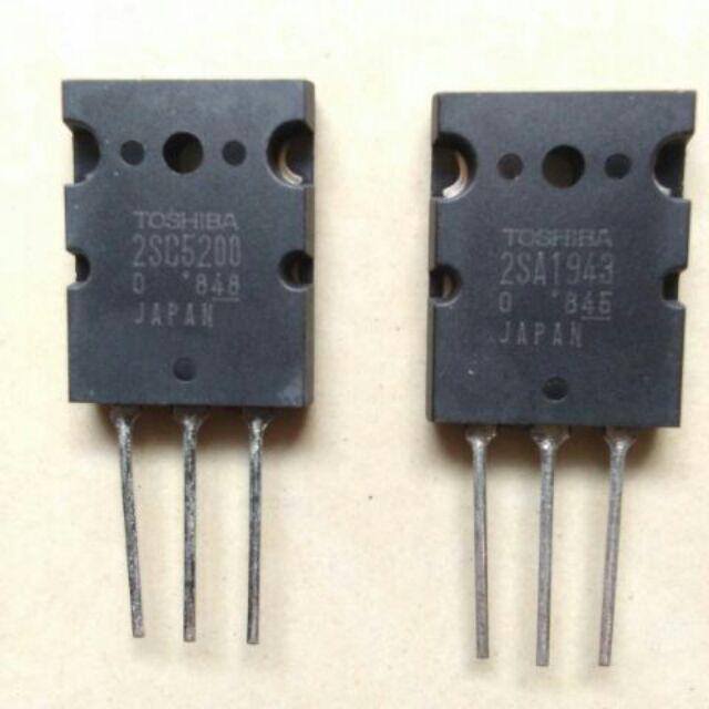 75 each Original Toshiba Transistor (2SA1943 & 2SC5200)