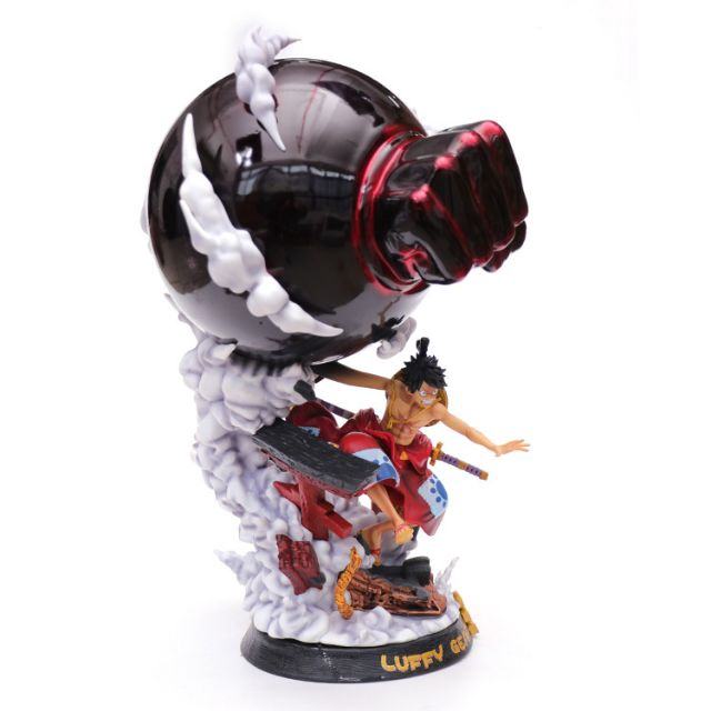 One Piece 1 4 Wano Country Gear 3 Monkey D Luffy Resin Statue
