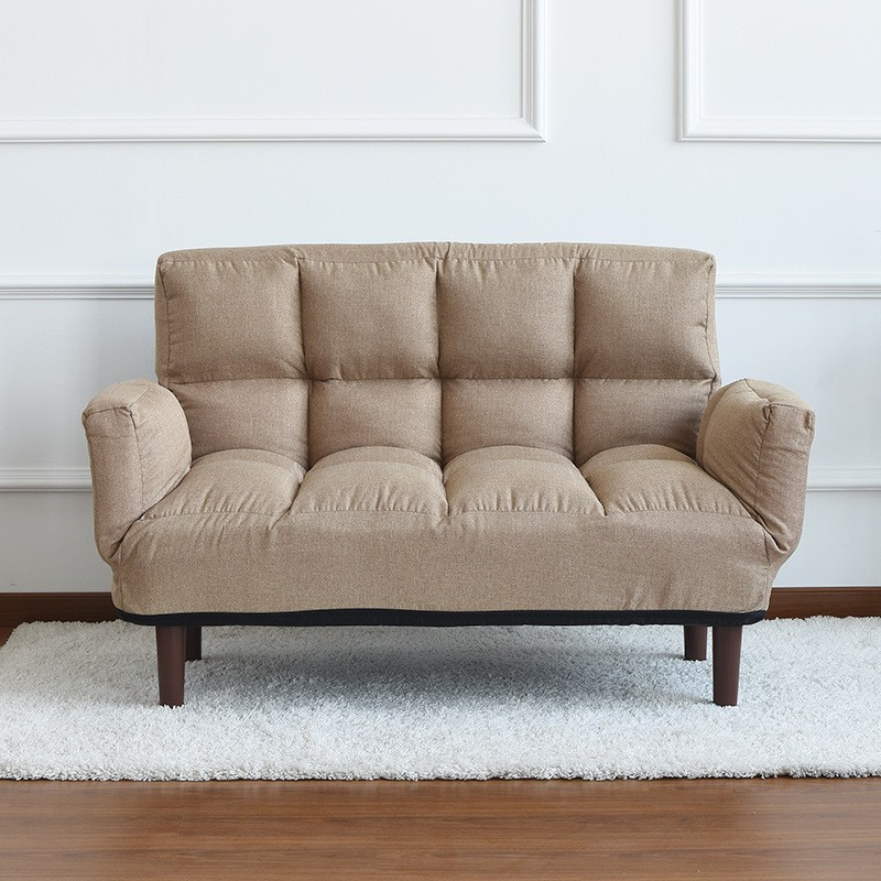 Fabric Sofa Bed Double Beanbag Bedroom
