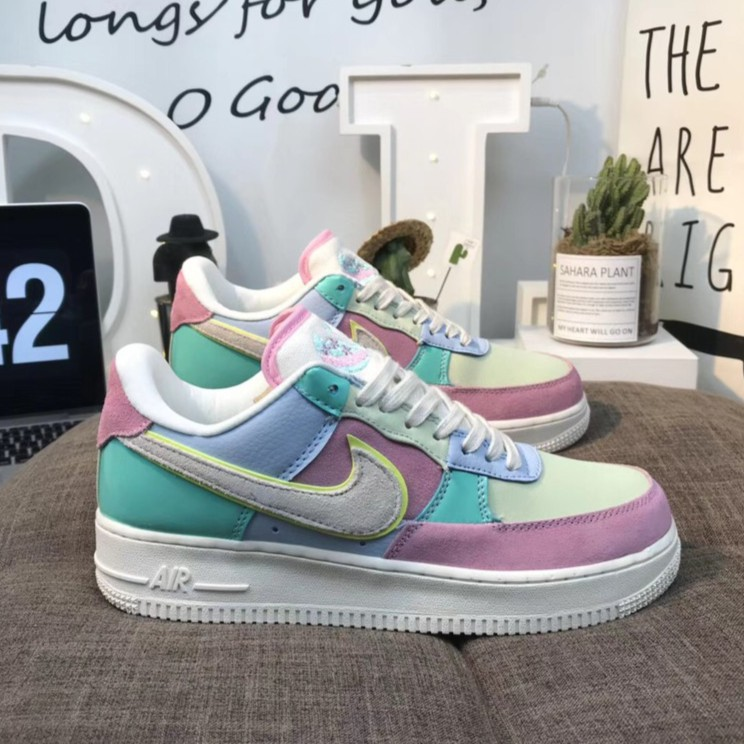 Original Nike Air Force 1 Low Easter Egg AF1 Sneakers Shoes For Men And Women