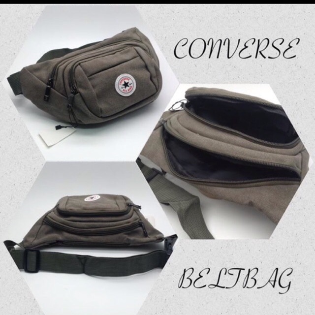 new arrival b2395 d3335 CONVERSE Belt bag   Shopee Philippines