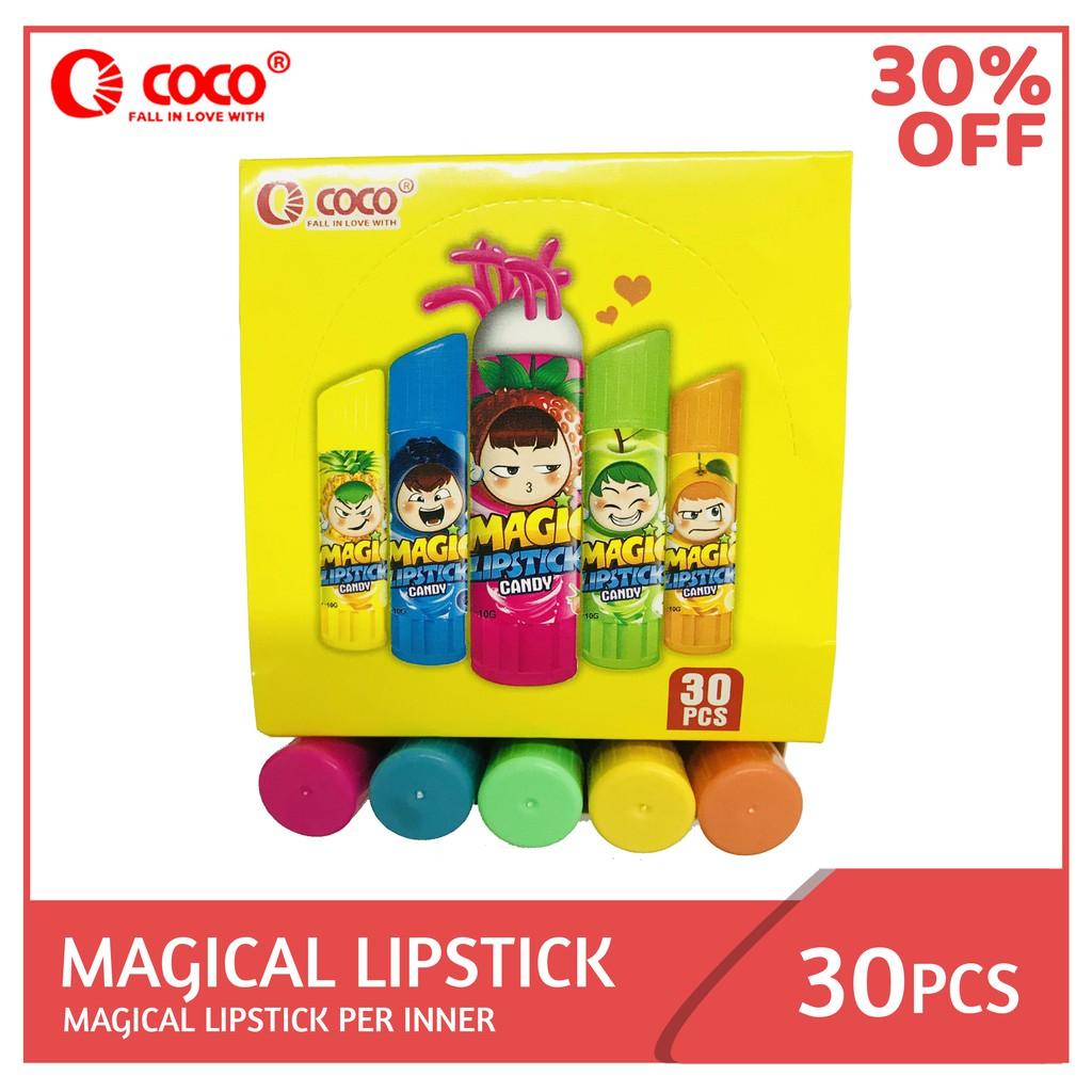 Magical Lipstick 30PCS per Inner