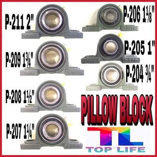 8//10//15//17//20//25mm Bore Diameter Mounted Bearings Ball Pillow Block Housing.DD