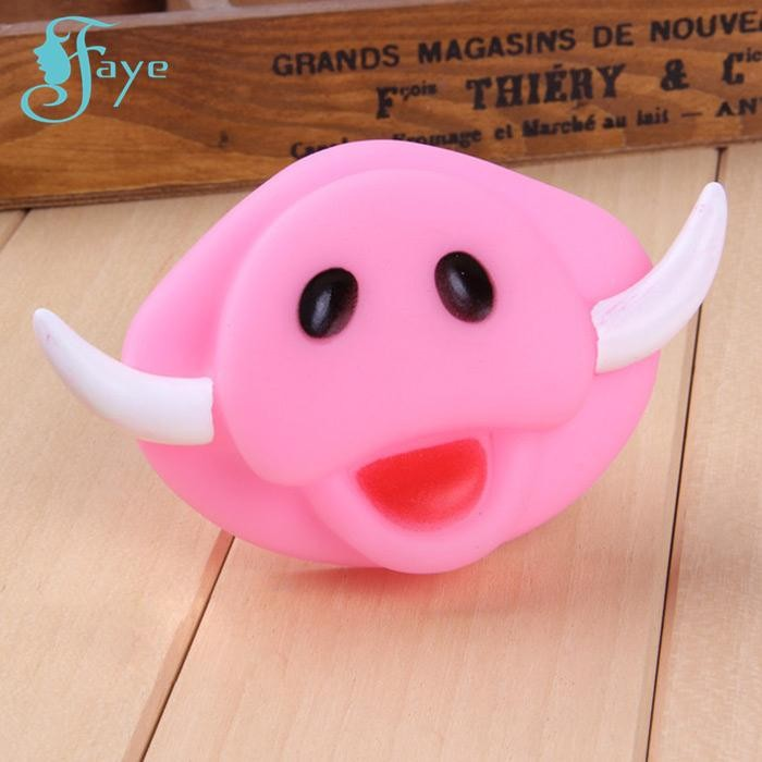 New Pet Toy Funny Vinyl Dog Piggy Nose Sound Toys Dog Chewing Pet Product