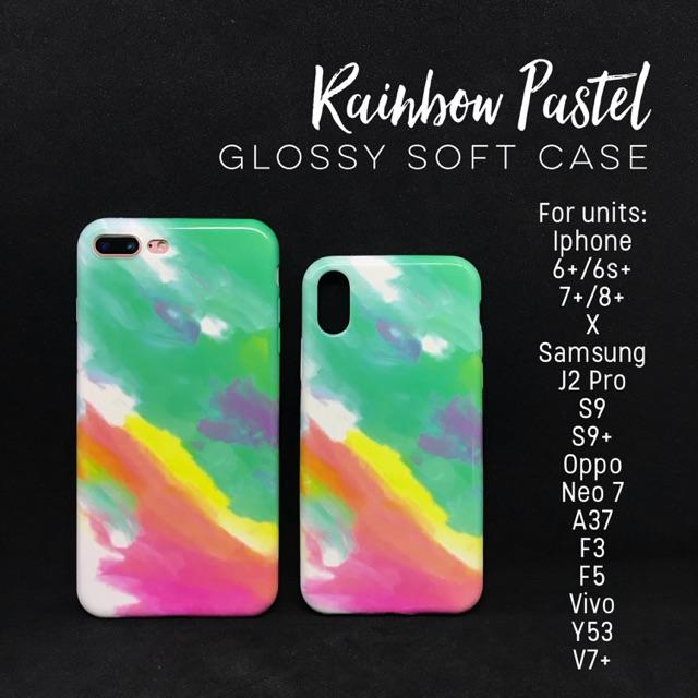 Rainbow Marble Case J2 Pro S9+ Neo7 A37 F3 F5 Y53 V7 X 7 8 6