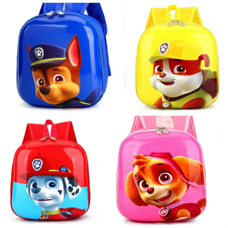 Bags Kids School Bag Hard Shell Paw Patrol Kindergarten Kids Backpack For Children  Bag Pack | Shopee Philippines