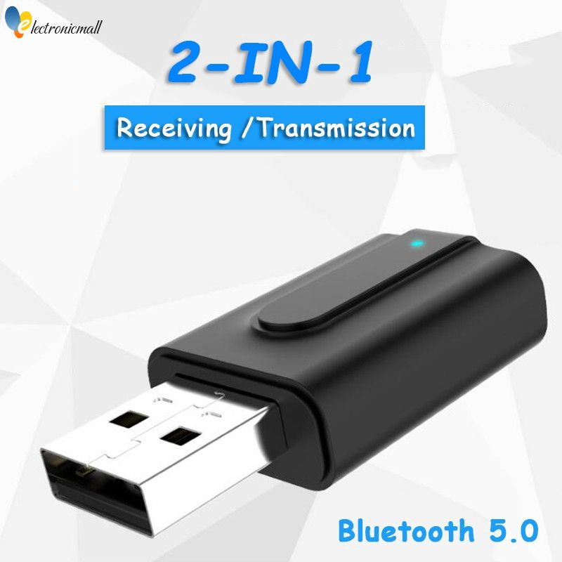 Dongle Bluetooth 5.0 Adapter Digital Devices Music Audio Receiver USB Receiver
