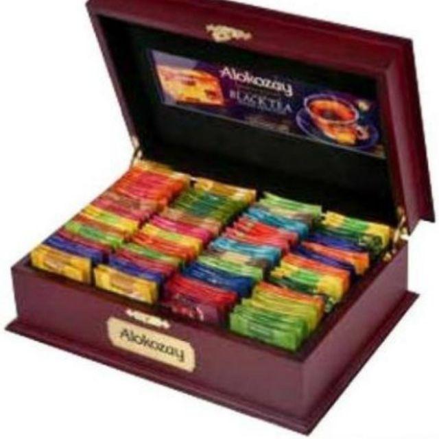 Alokozay Tea In Wooden Box