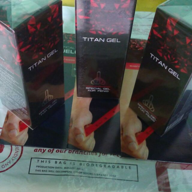 Titan Gel For Men Cash On Delivery Free Shipping Nationwide Shopee