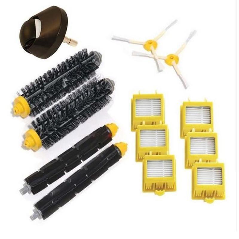 HEPA Filter Pack Side Brush Kit For iRobot Roomba 700 Series 760 770 Vacuum
