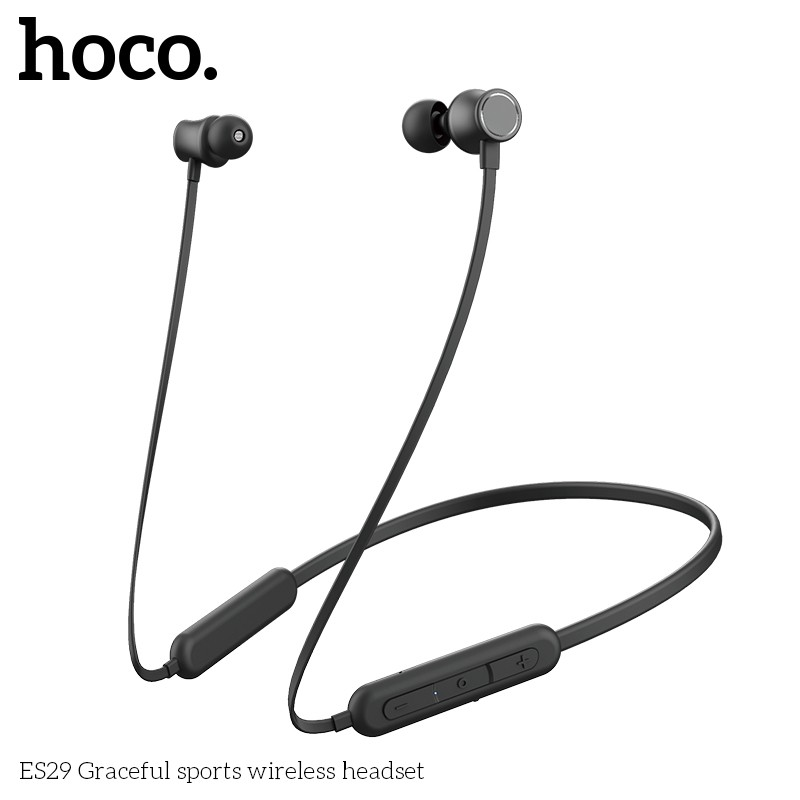 Hoco Es29 Graceful Sports Wireless Headset 180mah Battery For 16 Hours Of Music And Call Shopee Philippines