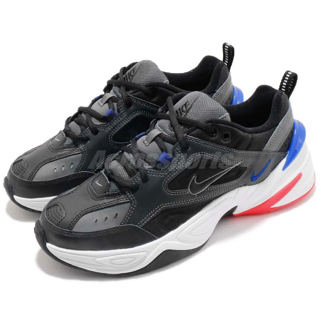 Moviente Bebé Costa  Nike M2K Tekno Paris Dark Grey Black Blue Men Daddy Shoes Sneakers  AV4789-003 | Shopee Philippines