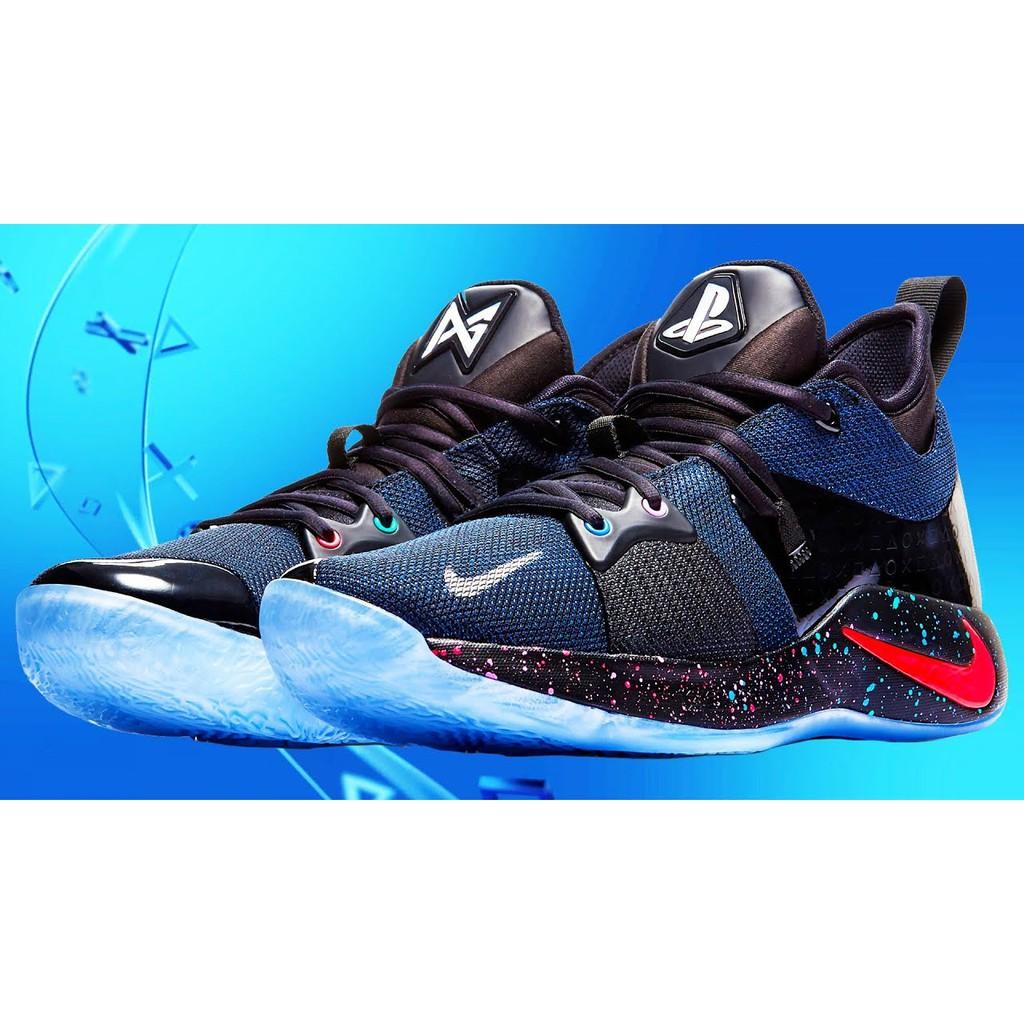 37e5bb67a4c7 Nike PG 2 PlayStation w  Lighting Logo (OEM) Premium Quality ...