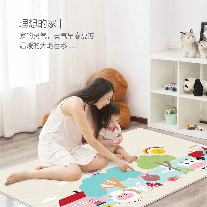 Playground Large Baby Play Mat for Toddlers Baby Padded Floor Mats for Kids Play Mat Baby Carpet Play Mat Foldable Baby Foam Playmat 40x60 Waterproof Crawling Mat for Infants Babbies Toddlers