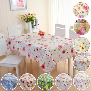 77b25601b26 106 152cm Waterproof Oil Proof PVC Table Cloth Cover Kitchen Tablecloth  Decor