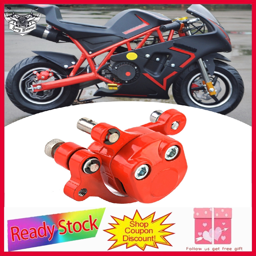 Hydraulic Rear Brake Calliper /& Master Cylinder Lever Mini Moto Dirtbike 49cc