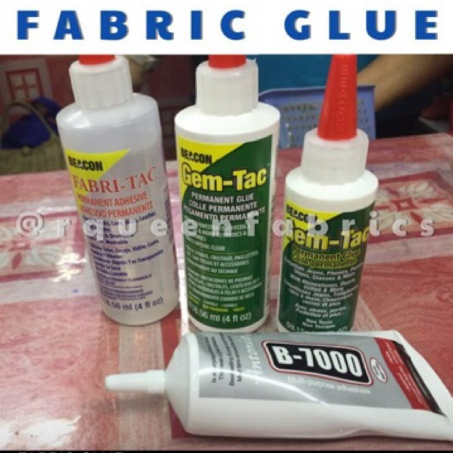 e7be1bc108d4 All around adhesive for fabric glue