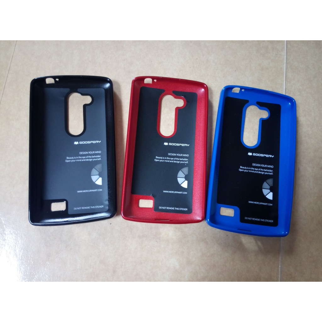 LG L Fino Dual D295, Mercury Goospery Jelly Case | Shopee