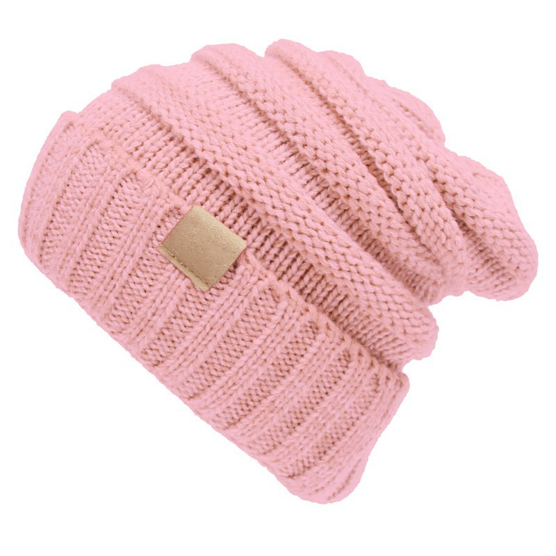 6fb38623e ProductImage. ProductImage. Hot Knitted Wool Kids Hats Girls Folds Casual  Winter ...