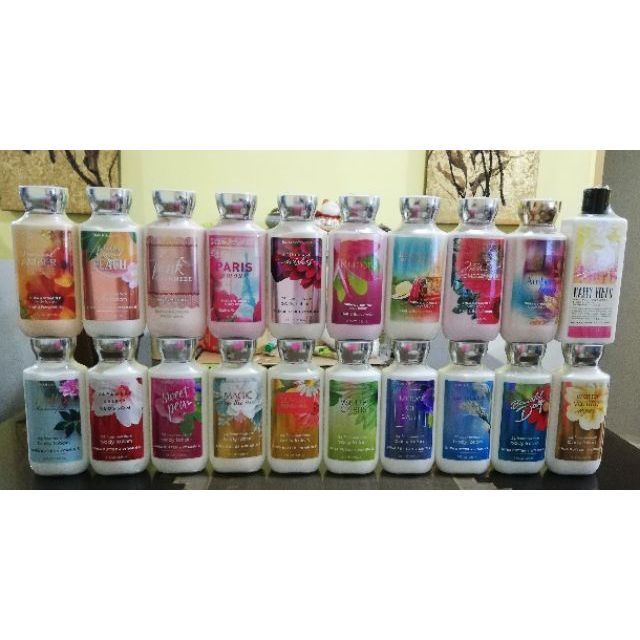 Original Bath And Body Works Body Lotion 8oz 02 Shopee
