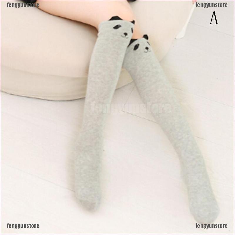 Baby Kids Toddlers Girls Knee High Socks Tights Leg Warmer Stockings F Age 0-6 G