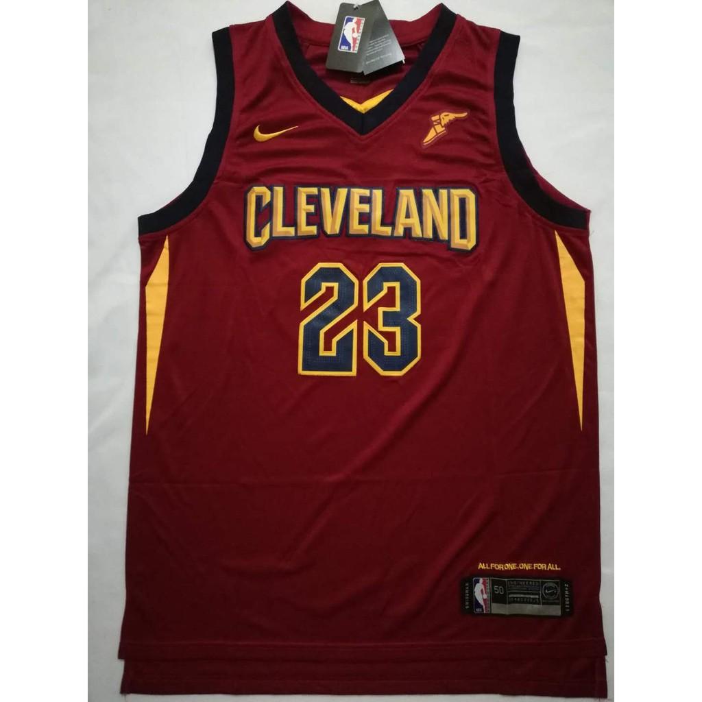 the best attitude 009df c401e Lebron James Cleveland Cavaliers Maroon Swingman Jersey