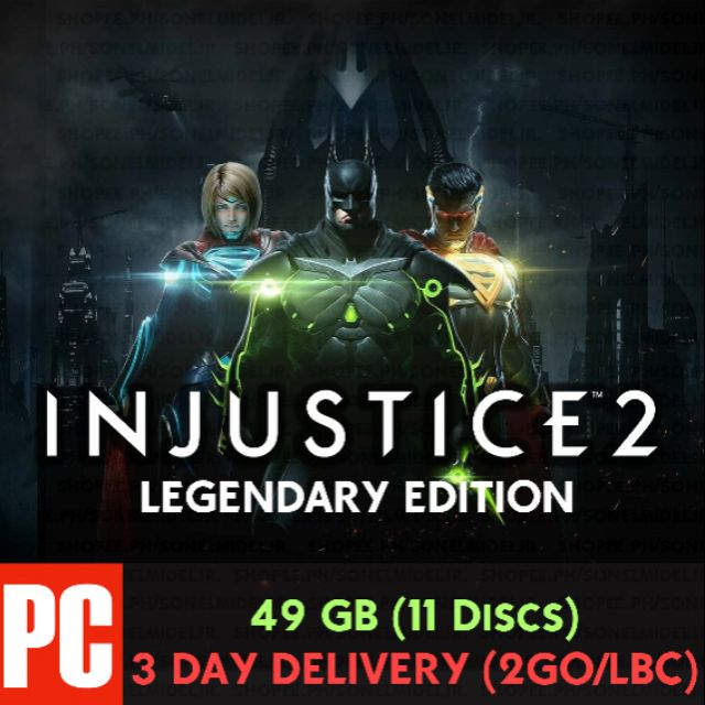 Injustice 2 Legendary Edition PC Fighting Game