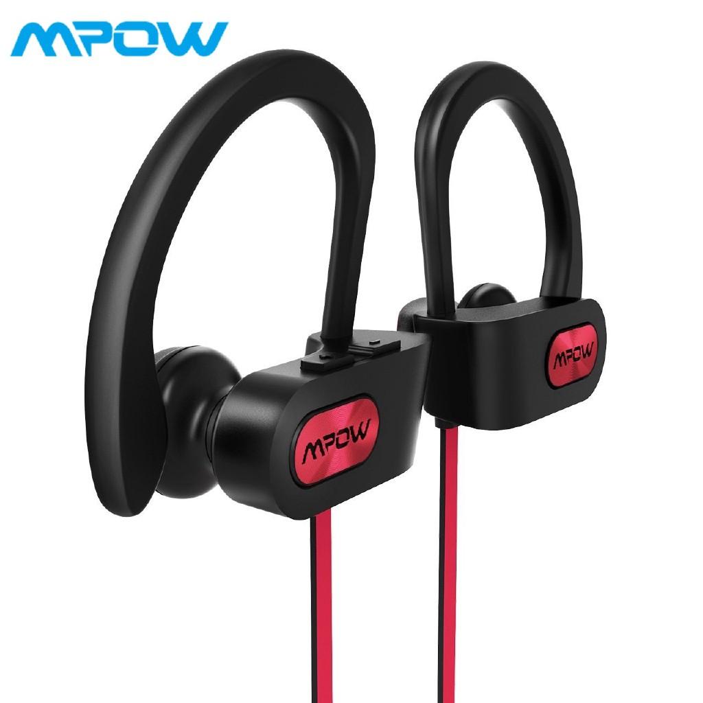 88fd2c7ed84 Mpow Coach Bluetooth Headphones V4.1 Wireless Sport Headphones w/ Mic |  Shopee Philippines
