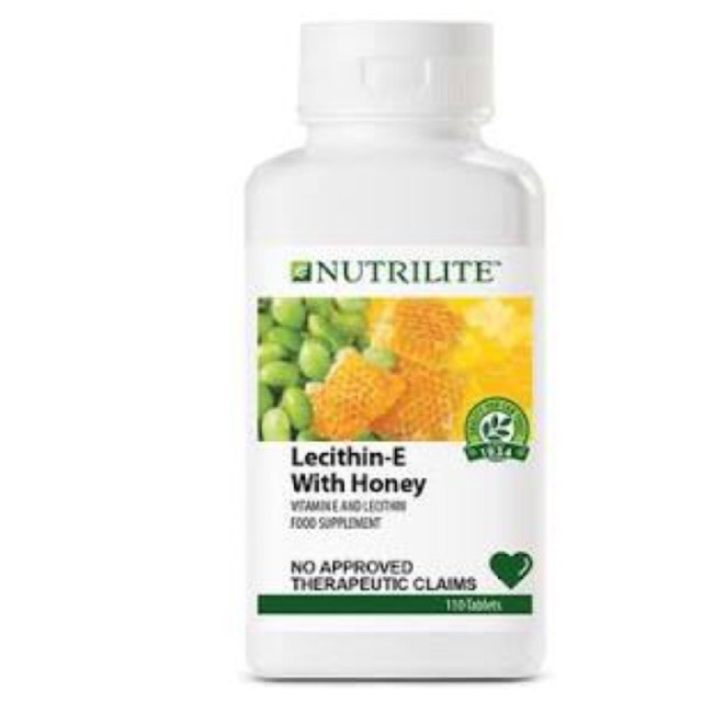 110 Tablets Nutrilite Lecithin E With Honey Tablet Amway Sho Philippines