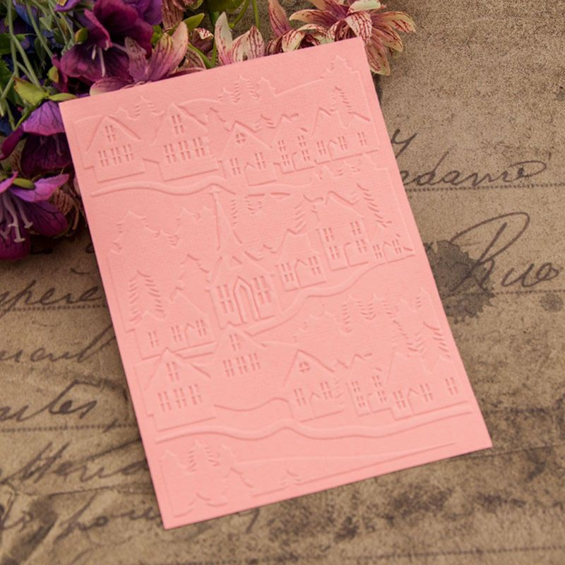 DIY Embossing stencil Folder Plastic Template stamp Scrapbook Album Cards Crafts