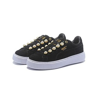largest selection of 2019 many styles hot-selling real Kong* original PUMA X RIHANNA SUEDE CREEPER casual couple shoes