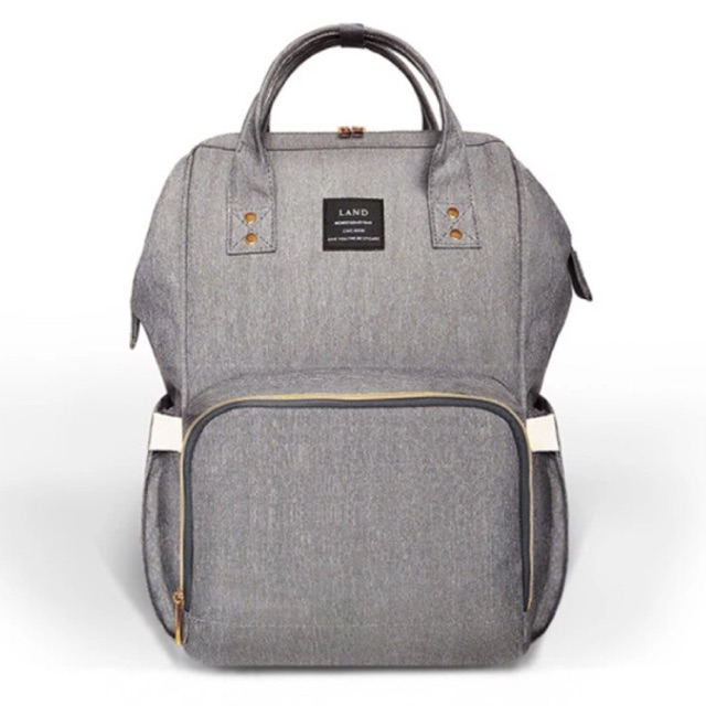 6dc9655748 Onhand LAND Diaper Backpack Mommy Large Nappy Bag - ASH GRAY ...