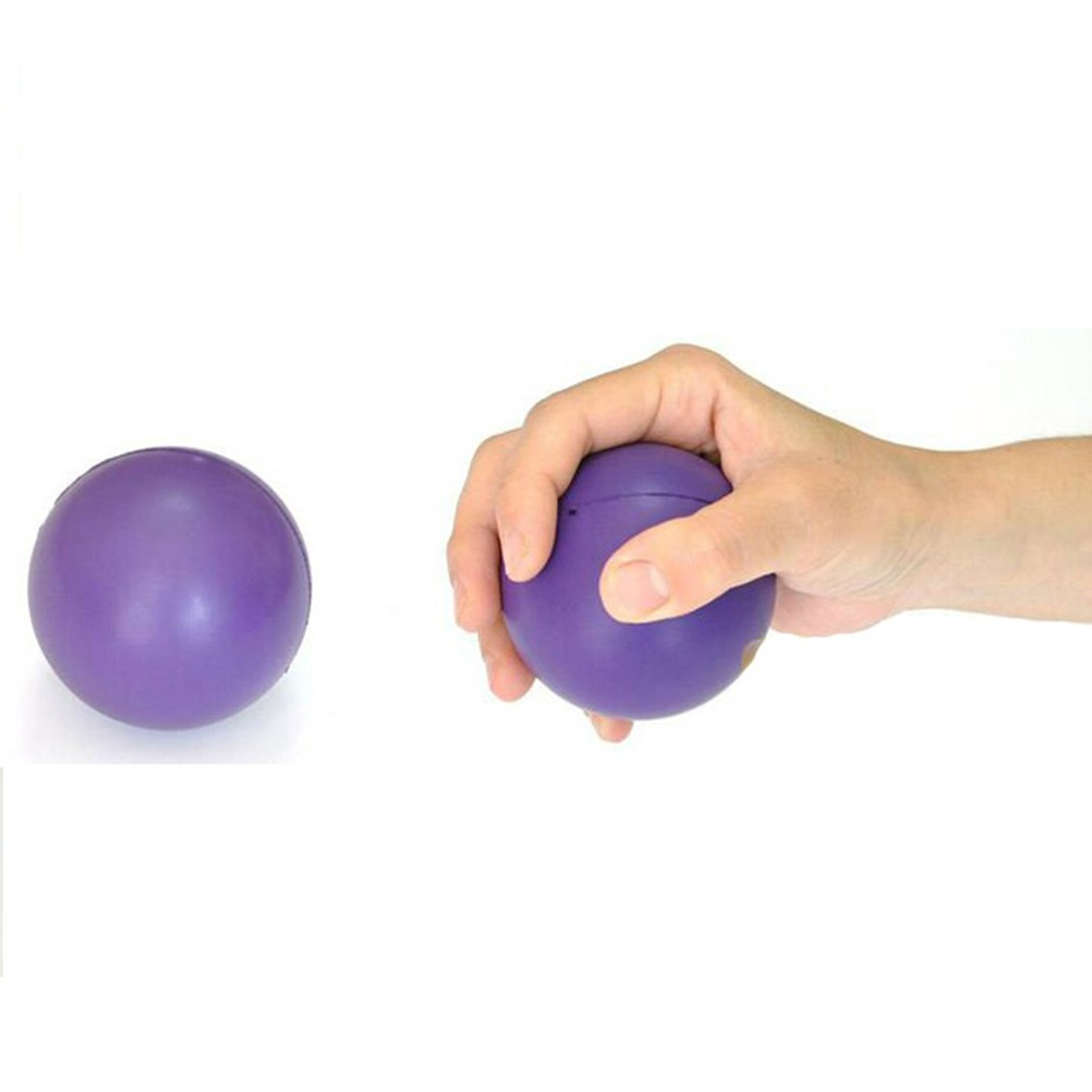 Beauty & Health Supply 1pc 7cm Cute Elastic Rubber Stress Relief Ball Heart Shaped Exercise Stress Relief Squeeze Soft Foam Ball Massage & Relaxation